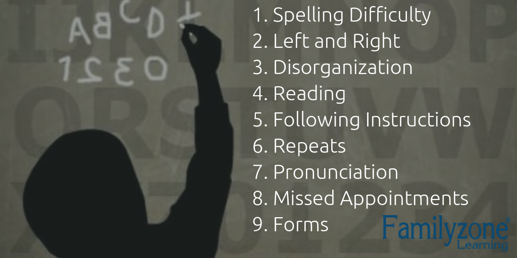 The 9 dyslexia signs
